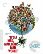 It's A Mad Mad Mad Mad World Criterion Collection Blu-ray + Dvd