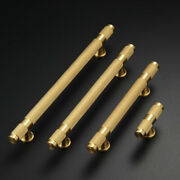 10pcs Brass Knurled Furniture Handle Drawer Pull Cupboard Kitchen Cabinet Handle