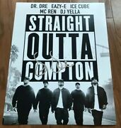 Dr Dre Signed 11x14 Photo Straight Outta Compton With Exact Proof