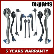 Front Control Arm With Ball Joint Tie Rods Link Fit For Mercedes Clk-class W203