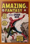 Amazing Fantasy 15 First Appearance Of Spiderman Facsimile Edition Marvel