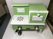 1930s Large [ Little Cook ]searschilds Electric Stove Porcelain Knobs- Working