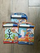 Imagine Ink Mess Free Markers12-page Game Book Magic Pictures Age 3+ Set Of 3
