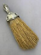 Antique Sterling Silver Hand Broom 925 90g Tw Z12