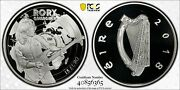 Ireland 2018 Andeuro15 Silver Proof Rory Gallagher Commemorative Coin Pcgs Pr69dcam