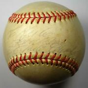 1960and039s Roberto Clemente Signed And Inscribed Autographed Baseball - Psa/dna Loa