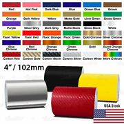 100mm 4 Pinstriping Pin Stripe Tape Car Motorcycle Line Decal Craft Stickers