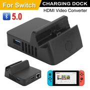 For Switch Usb Charging Dock Station Hdmi Bluetooth Video Converter Charger Ss