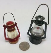 Mini Toy Gas Lamps For Playroom Decorations Vintage