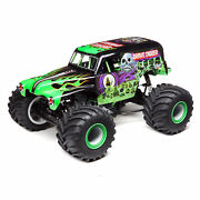 Losi Lmt 4 Wheel Drive Solid Axle Monster Truck Ready To Run Grave Digger