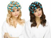 Housewife Wig With Curlers Adult