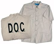 Christian Bale Screen-worn Hero Shirt From Out Of The F