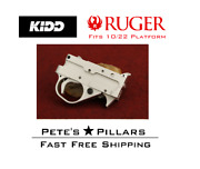 Kidd Ruger 10/22 Single Stage Trigger Assembly Charger 1022 Silver