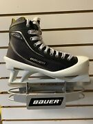 Bauer Supreme One80 Senior Adult Ice Hockey Goalie Skate Size 10d. New With Box