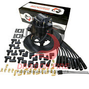Dragon Fire Hei Distributor And Plug Wire Set For Chevy 327 350 427 454 Tach Drive