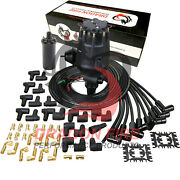 Dragon Fire Pro Series Distributor Coil And Wire Set For Chevy 327-454 Tach Drive
