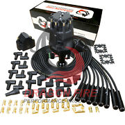 Dragon Fire Pro Series Distributor And Wire Set For Pontiac 326 350 389 400-455