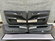 ✔mercedes W221 S65 S550 S63 Bang And Olufsen Interior Door Panel Set Assembly Oem