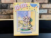 2004 Dept 56 Mandmand039s Andldquoeaster Bunny Houseandrdquo Lighted House And Candy Dish