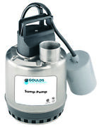 Goulds Lsp0311atf 1/3hp Submersible Sump Pump