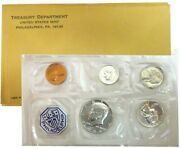 United States Mint Treasury Department 1964 P.c. Coin Set In Envelope