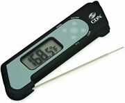 New Cdn Pro Accurate Rotating Thermocouple Thermometer, Black Dtf572-bk