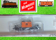 Milwaukee Road, Fox Valley Fvm 91165 N Scale, N Transfer Cab Caboose Road 01731