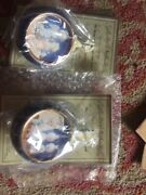 1999 Rare Pair Of Precious Moments Christmas Ornamentsmust See