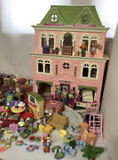 Fisher Price Loving Family Grand Mansion Victorian Dollhouse 2008 140 Pieces