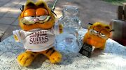 Garfield Ca 1987 Embassy Suites Hotels Plush 10 And 5 1/2 And Glass Bank 7 1/2