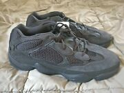 Adidas Yeezy 500 Utility Black Size 16 100 Authentic New Deadstock In-hand Fast