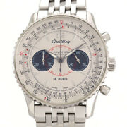 Free Shipping Pre-owned Breitling Navitimer 02 A47330 Chronograph Japan Limited