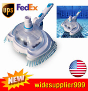 Pool Vacuum Suction Tank Head Brush Swimming Pool Cleaner Cleaning Tool Hot