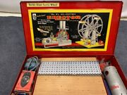 Vintage Ferris Wheel Ac Gilbert Erector Set No 8 1/2 All Electric