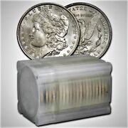 Roll Bu 20 Morgan Silver Dollar 1878 Pre 1921 12 Different Dates 20 Coins