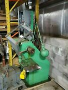 Industrial Single End Buffer/polisher Or Forming Machine, Foot Pedal Control