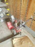 8 Hp Murray 24and039and039 Wide 624804x4 Gas Engine 2x Stage Snowblower W/electric Start