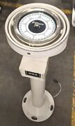 Sperry Marine Compass Bdr 600 Bearing Repeater 03956-1981173 W/ Column Stand