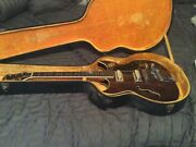 Vintage 1960s Greco Guitar Hollow Body In Great Shape See Photos