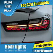 For Bmw G20 Red / Dark All Led Rear Lamps Assembly Led Tail Lights 2019-2021