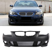 Mtech Style Front Bumper Cover For Bmw 5 Series E60 525i 530i W/o Pdc Holes