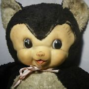 Rarerushton Rubber Face Doll Chubby Tubby 50's Large Size Vintage Antique Doll