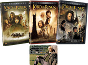 Lord Of The Rings Complete Trilogy Dvd Collection With Bonus Glossy Artcard The