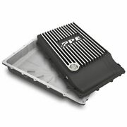 Ppe Brushed Aluminum Transmission Pan 17-19 Ford F-150 With 10r80 Transmission