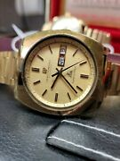 Vintage 1970s Girard Perregaux Gyromatic High Frequency Menand039s Watch Big Size