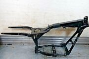 2000-2006 Harley Dyna Super Glide Fxdi35 Oem Main Frame Chassis Ut Salvage Tit