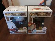Funko Pops Marvel - Iron Hammer And Arach-kni Walgreens Exclusive - Brand New