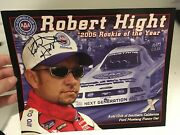 Signed Autograph Robert Hight 2005 Rookie Of The Year - John Force Racing