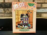 Dept 56 Halloween - Mandmand039s Lighted Haunted House Tours And Candy Dish