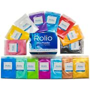 Rolio Mica Powder - For Epoxy Resin Slime Candle Soap Cosmetic Making-15bags